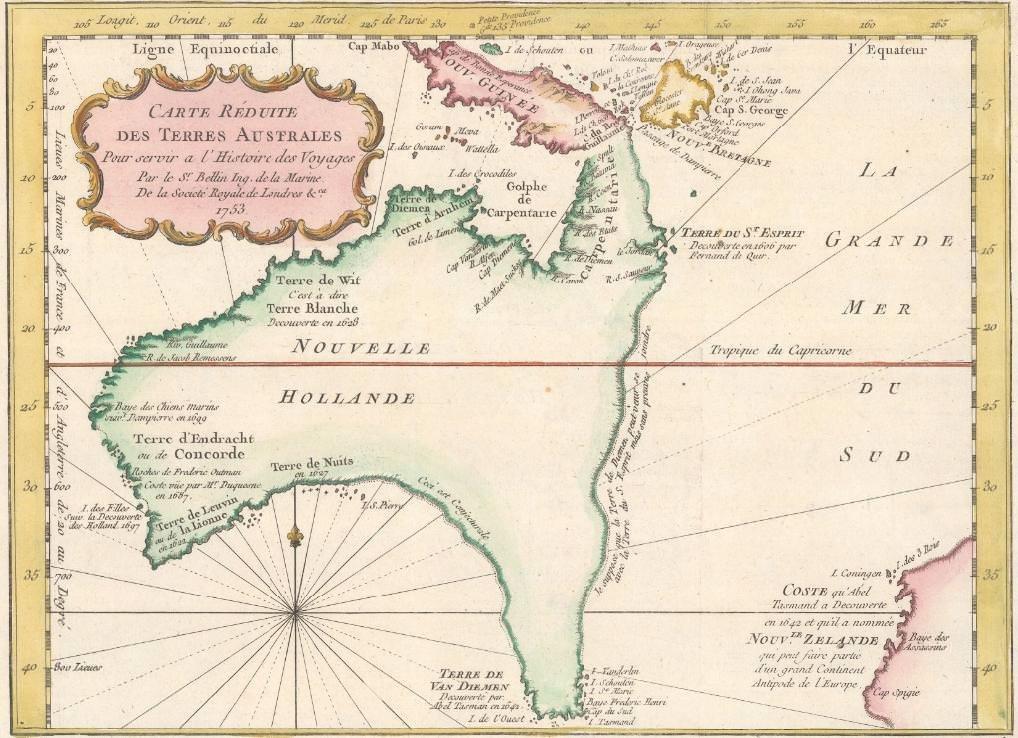 Australia 1753
